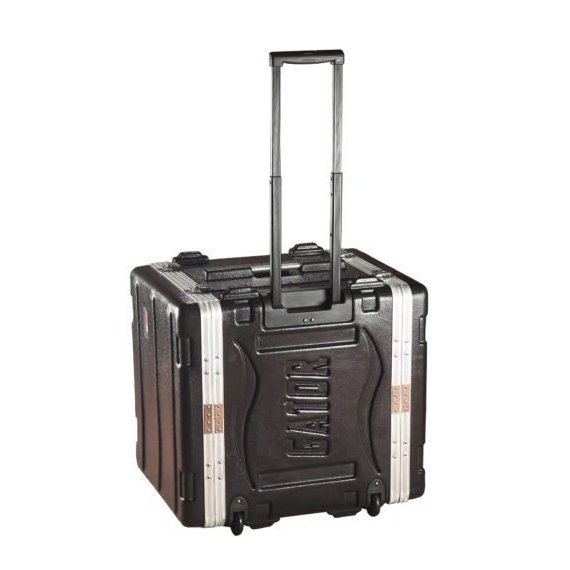 Gator Cases GRR-10L 10RU Lockable Rack Case with Wheels GRR10L