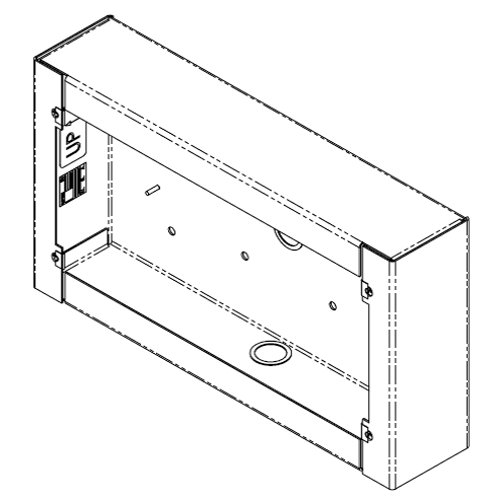 Atlas Sound IPDC-SEC  Surface Mount Straight Enclosure for IPDCM+ IPDC-SEC