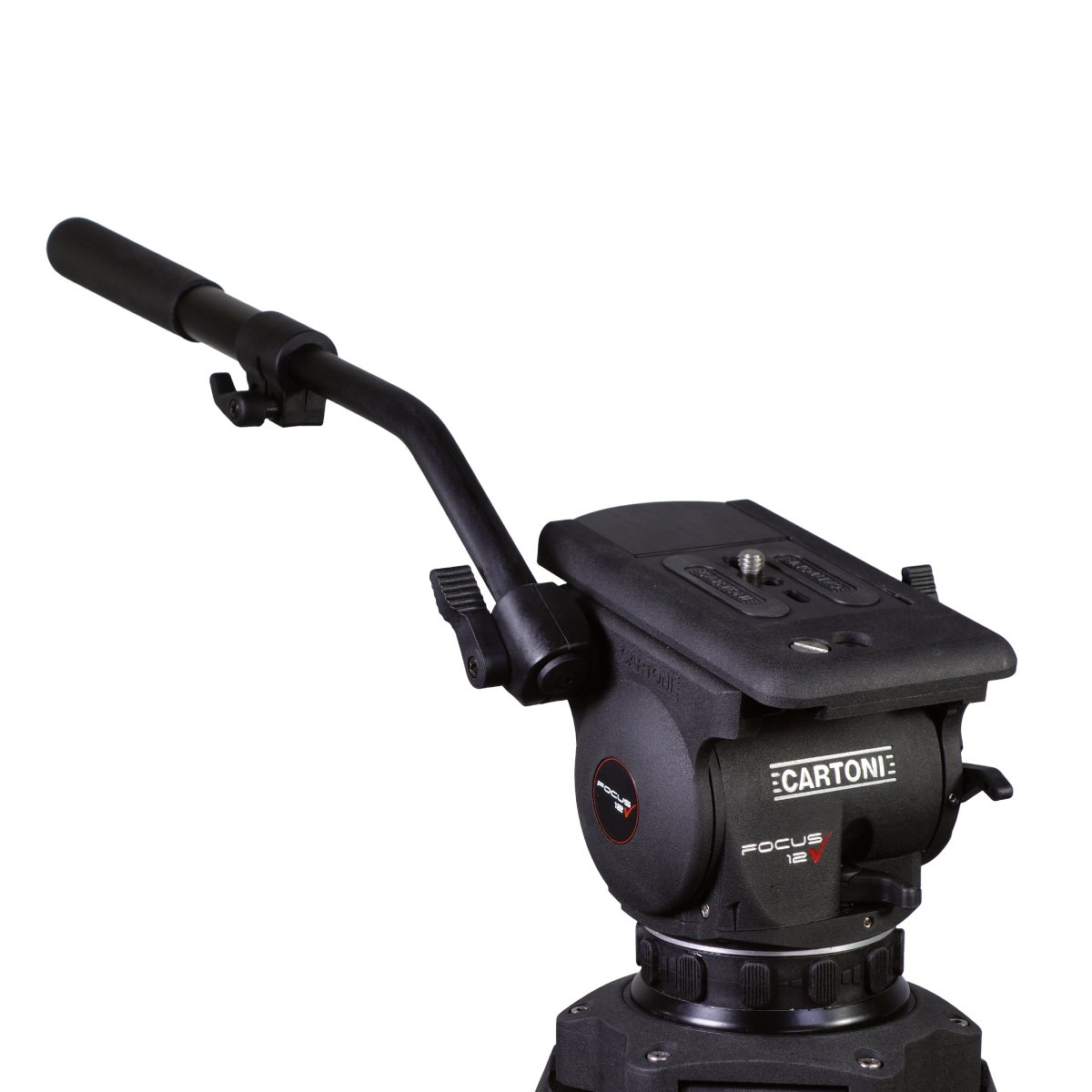 Focus 12 2-Stage CF Smart Stop Tripod wtih Mid Level Spreader