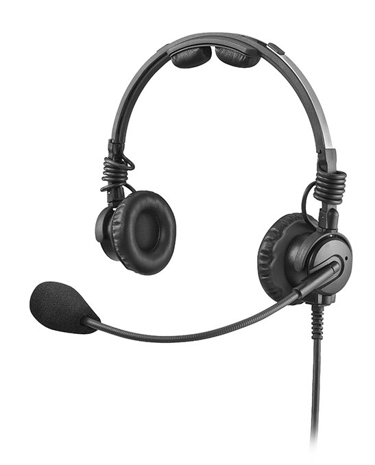 RTS LH-302-DM-A4F Double SidedHeadset Microphone with A4F Connector LH-302-DM-A4F