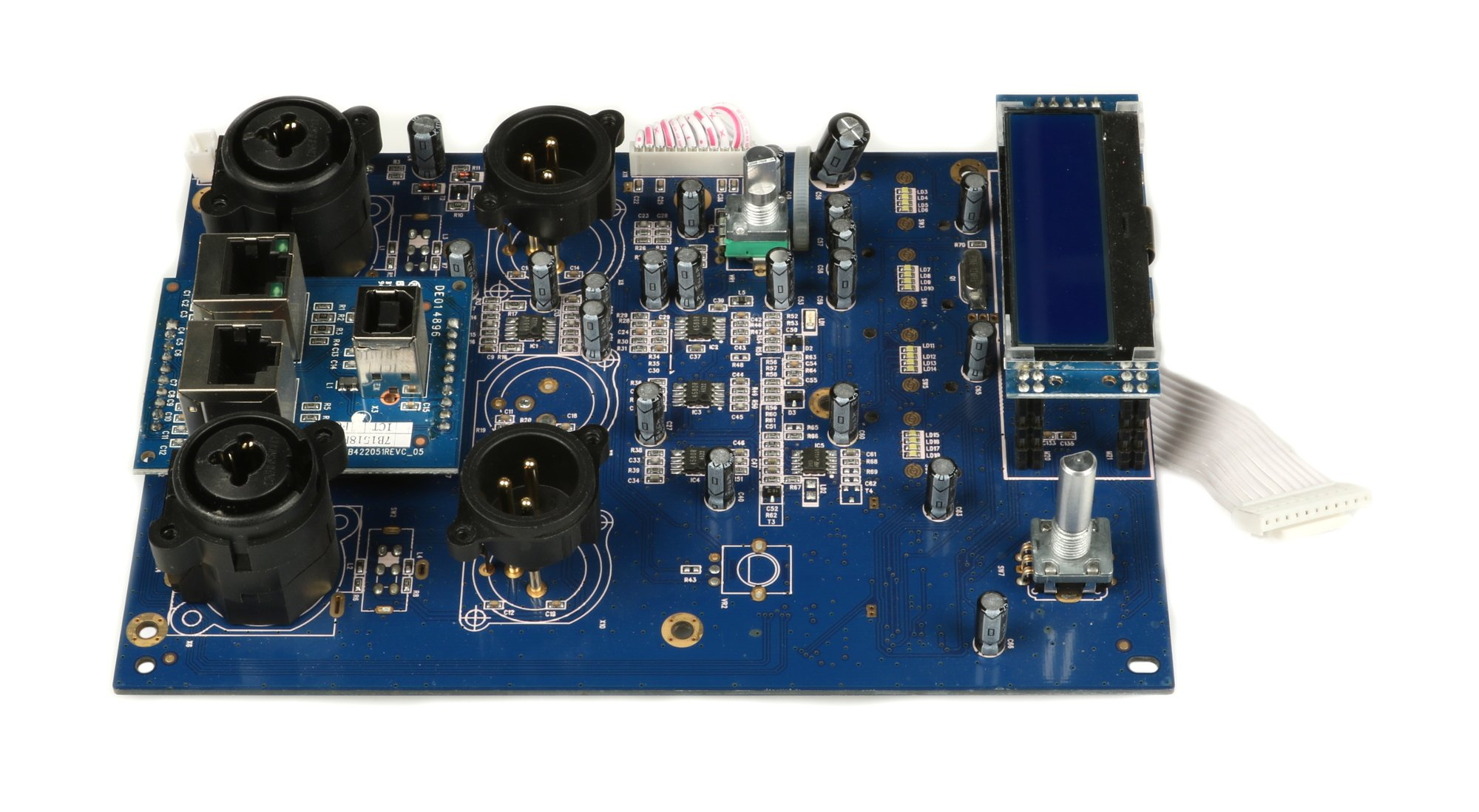 Input PCB Assembly for iQ18B