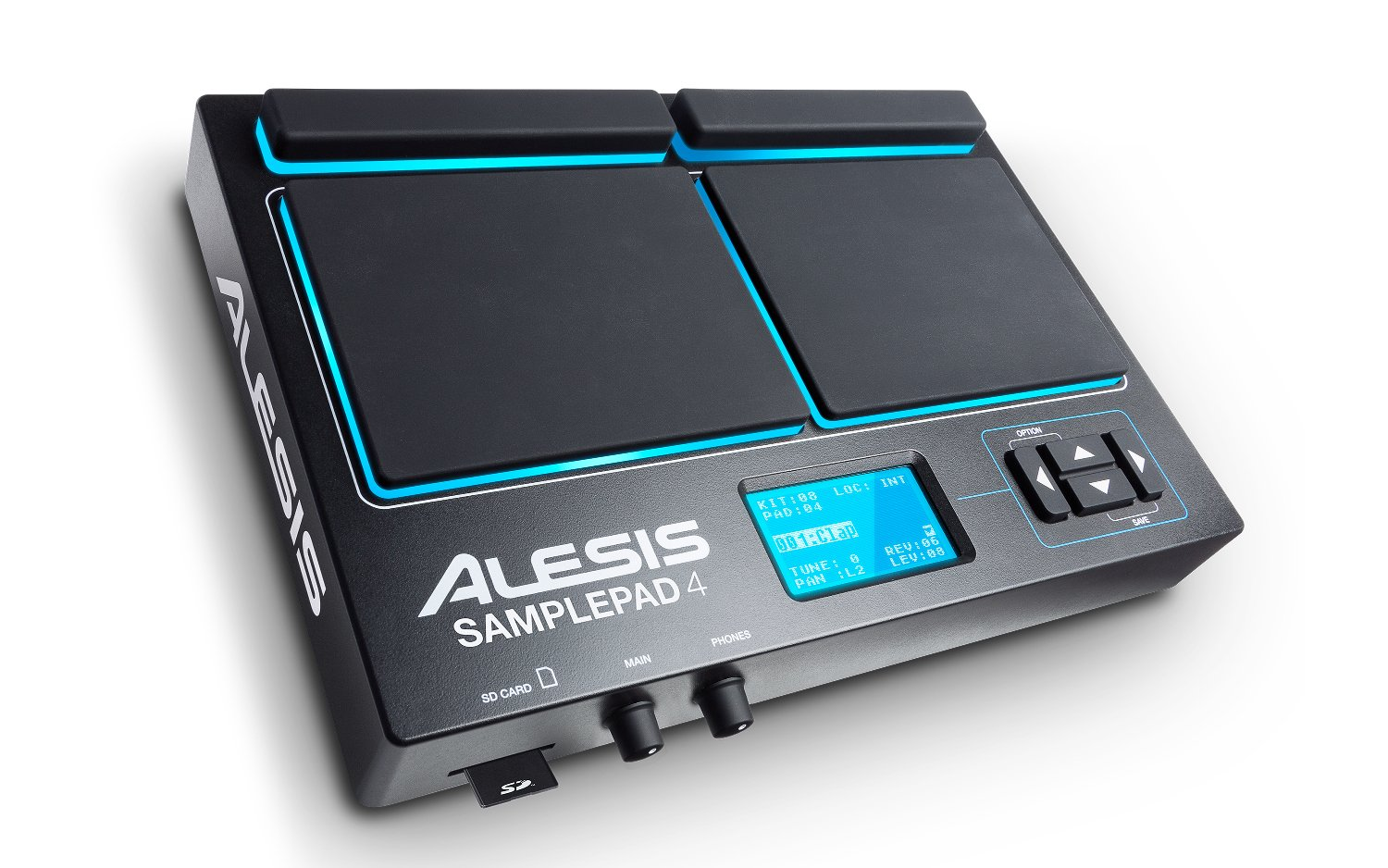 Alesis SamplePad 4 Electronic Multi-Pad Drum Instrument SAMPLE-PAD-4