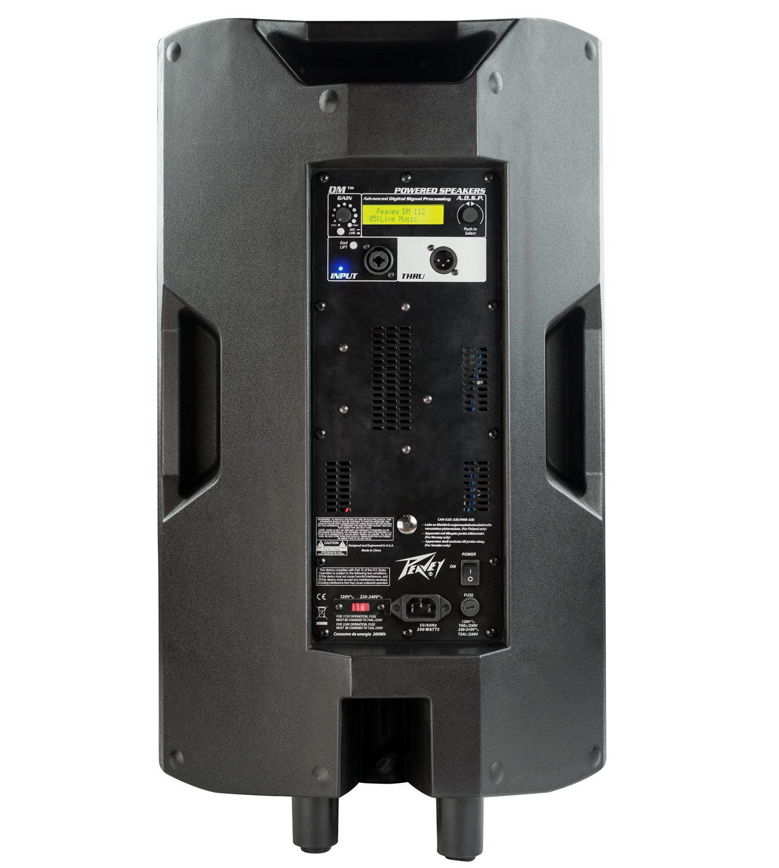 """Peavey DM 112 Dark Matter Series 12"""" 2-Way Powered Loudspeaker with Onboard DSP DM-112"""