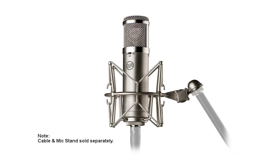 warm audio wa 47jr fet multi pattern condenser microphone transformerless