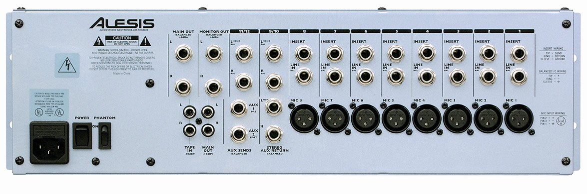 Alesis MultiMix 12R [RESTOCK ITEM] 12-Channel Rack-Mount Mixer with 8 Mic/Line and 2 Stereo In MULTIMIX-12R-RST-08