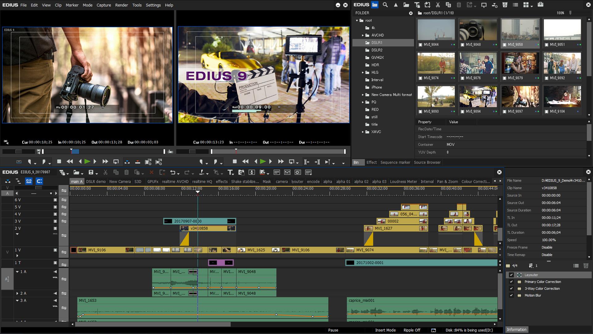 Tổng hợp Plugins dành cho Edius 7 (phần mềm dựng phim)