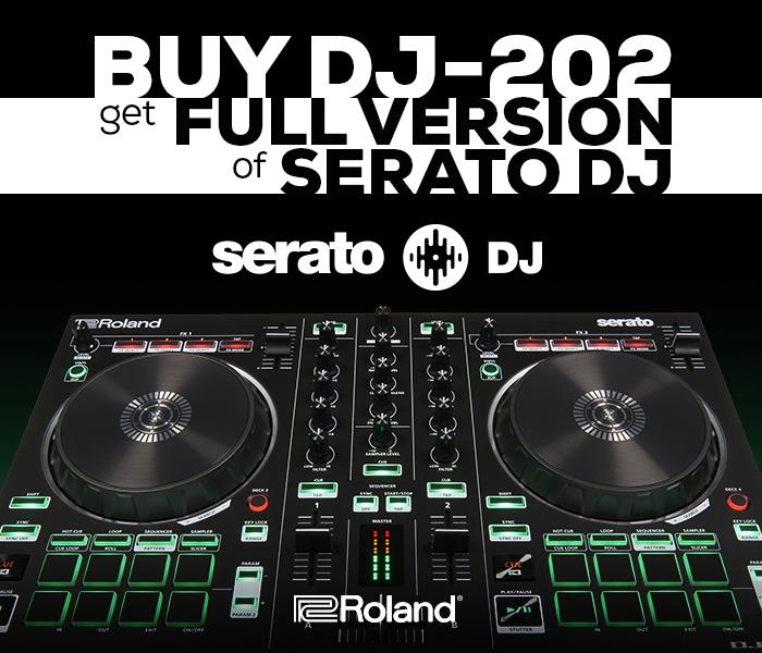 2-Channel Compact Serato DJ Controller