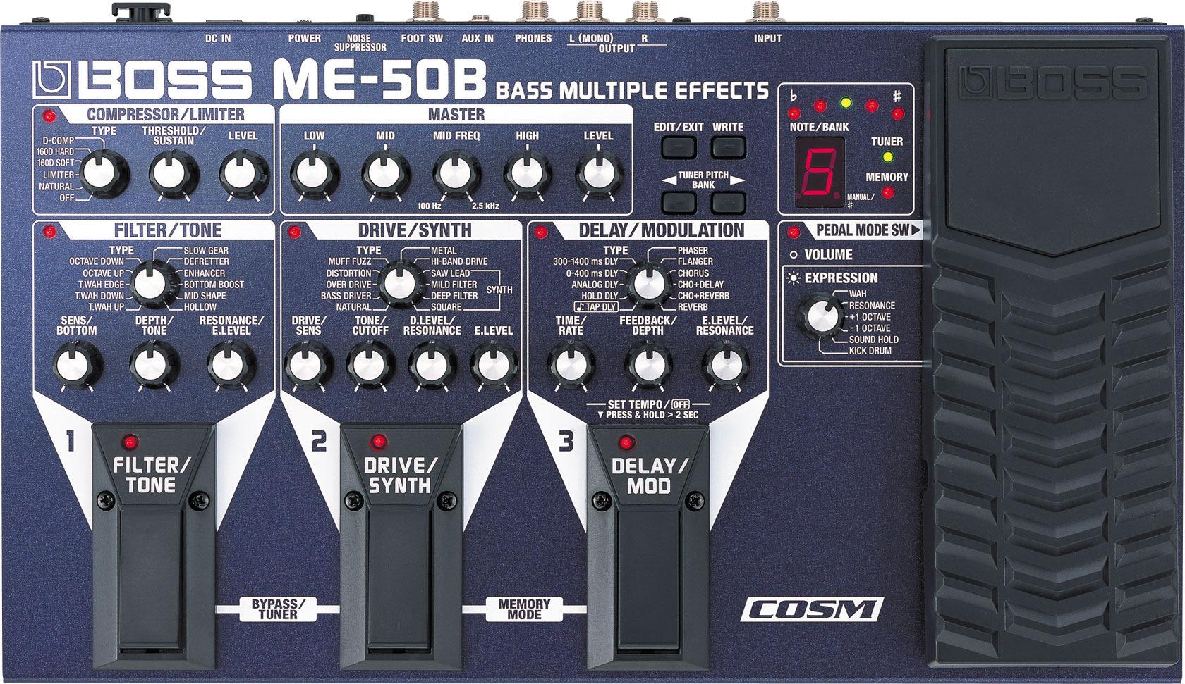 Boss ME-50B Bass Multi-Effects Processor ME-50B
