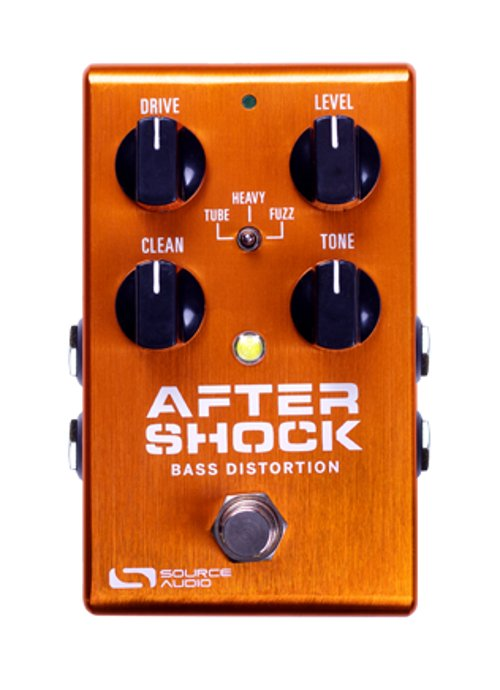 Bass Distortion Pedal with App Connectivity and MIDI Capabilities