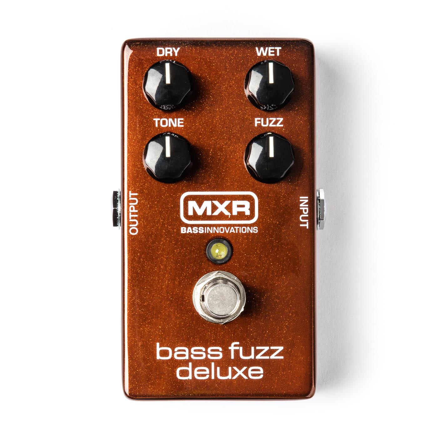 MXR Pedals M84 Bass Fuzz Deluxe Pedal M84