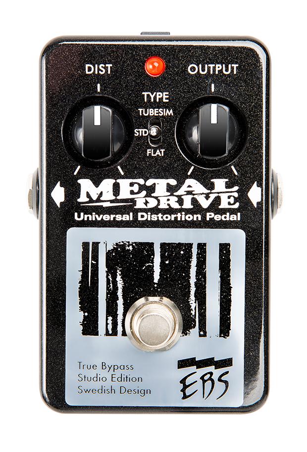 EBS MetalDrive Distortion Bass Pedal EBS-MT