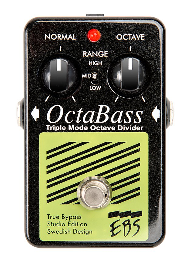 Triple Mode Octave Divider Bass Pedal