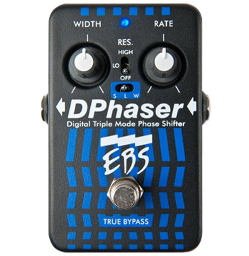 Triple Mode Bass Phaser Pedal