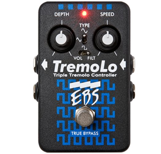 Triple Tremolo Bass Pedal