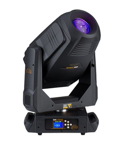 440 Watt LED Moving Spot Fixture with Road Case