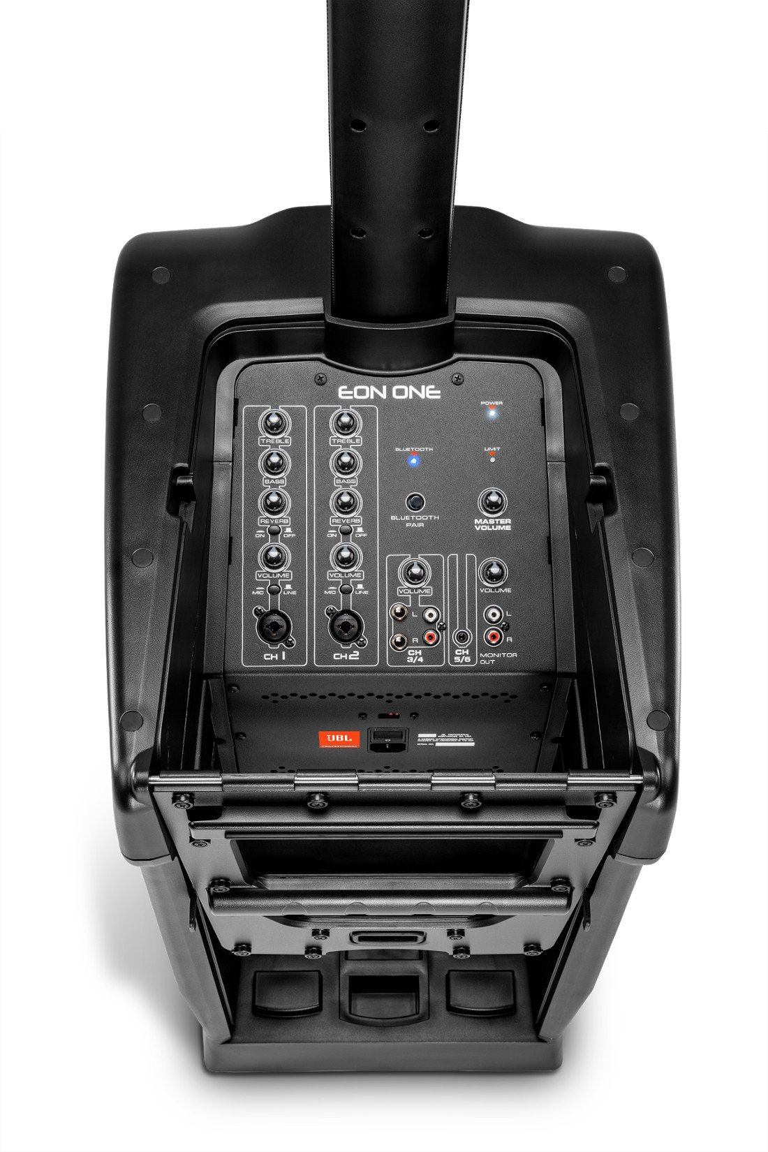 Personal PA System With 6-Channel Mixer, Black