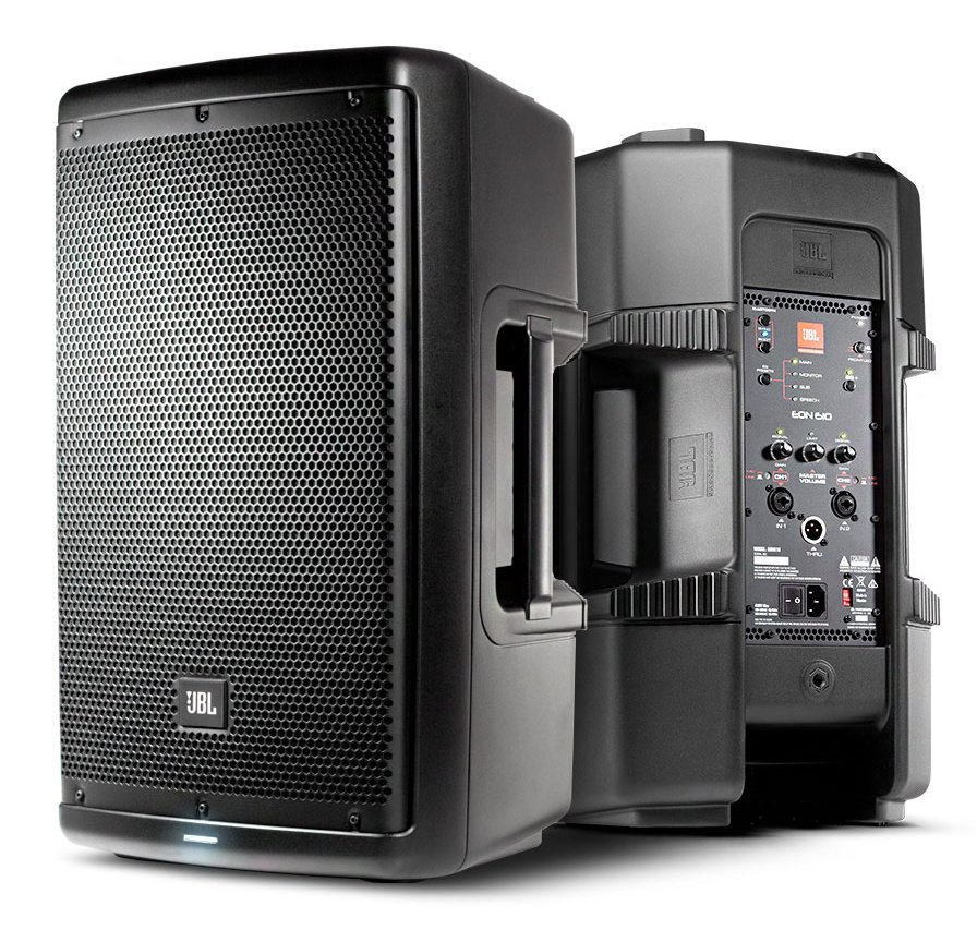 """10"""" Two-Way Multipurpose Self-Powered Sound Reinforcement"""