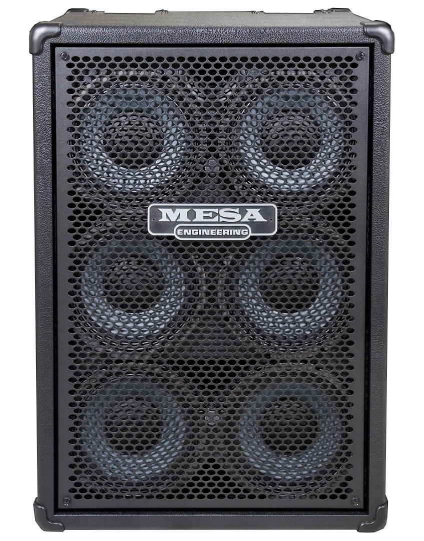 "6x10"" 900W Bass Speaker Cabinet with Silver Grille"
