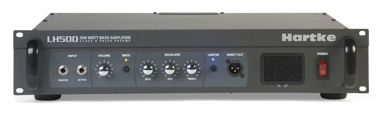 Hartke LH500 500W Bass Amplifier Head LH500