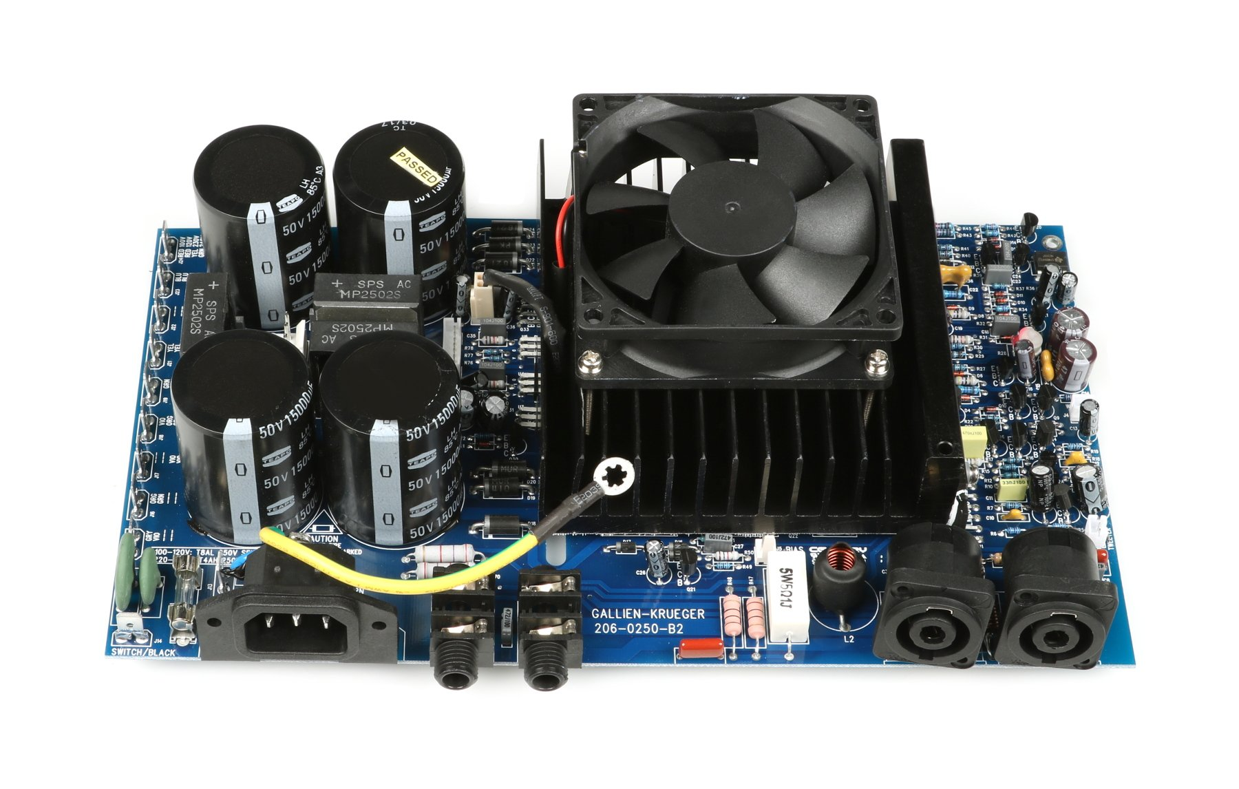 gallien krueger 207 0250 b 700rb ii replacement amp assembly full compass. Black Bedroom Furniture Sets. Home Design Ideas
