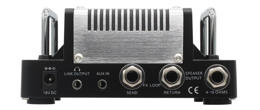 Hotone Nano Thunder Bass 5W Bass Amplifier Head THUNDER-BASS