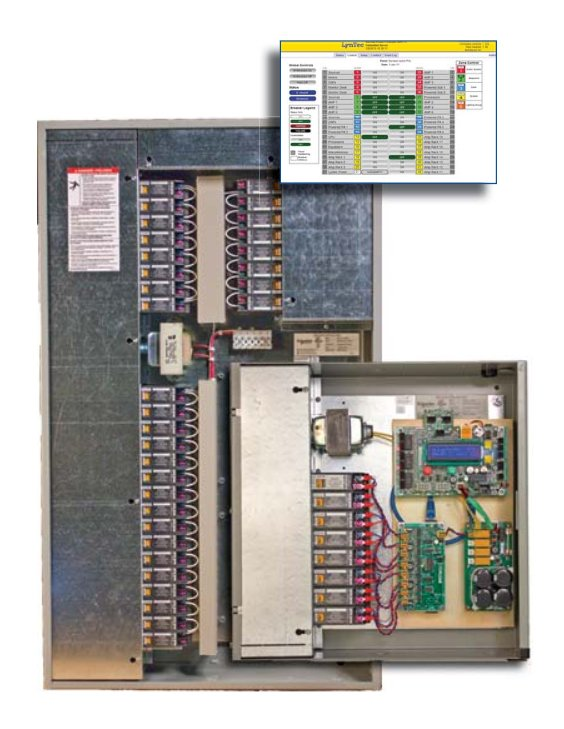 RPC Relay Panel With 16 Single-Pole 20A Panasonic Relays by LynTec on power wiring, subpanel wiring, load center wiring, septic tank wiring, swimming pool wiring, lighting wiring,