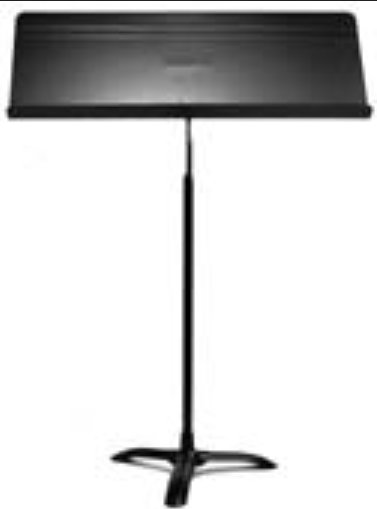 "32"" Fourscore Wide Four-Page Music Stand in Black"