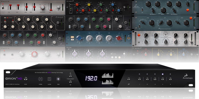 Antelope Audio Orion32 HD 64 channel HDX & USB3 AD/DA interface ORION32-HD