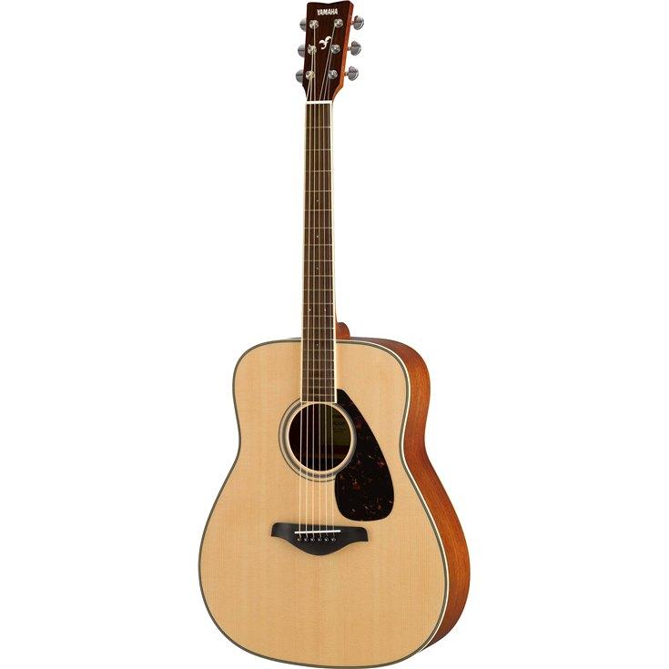 Yamaha FG820 Acoustic Guitar with Mahogany Back & Sides FG820