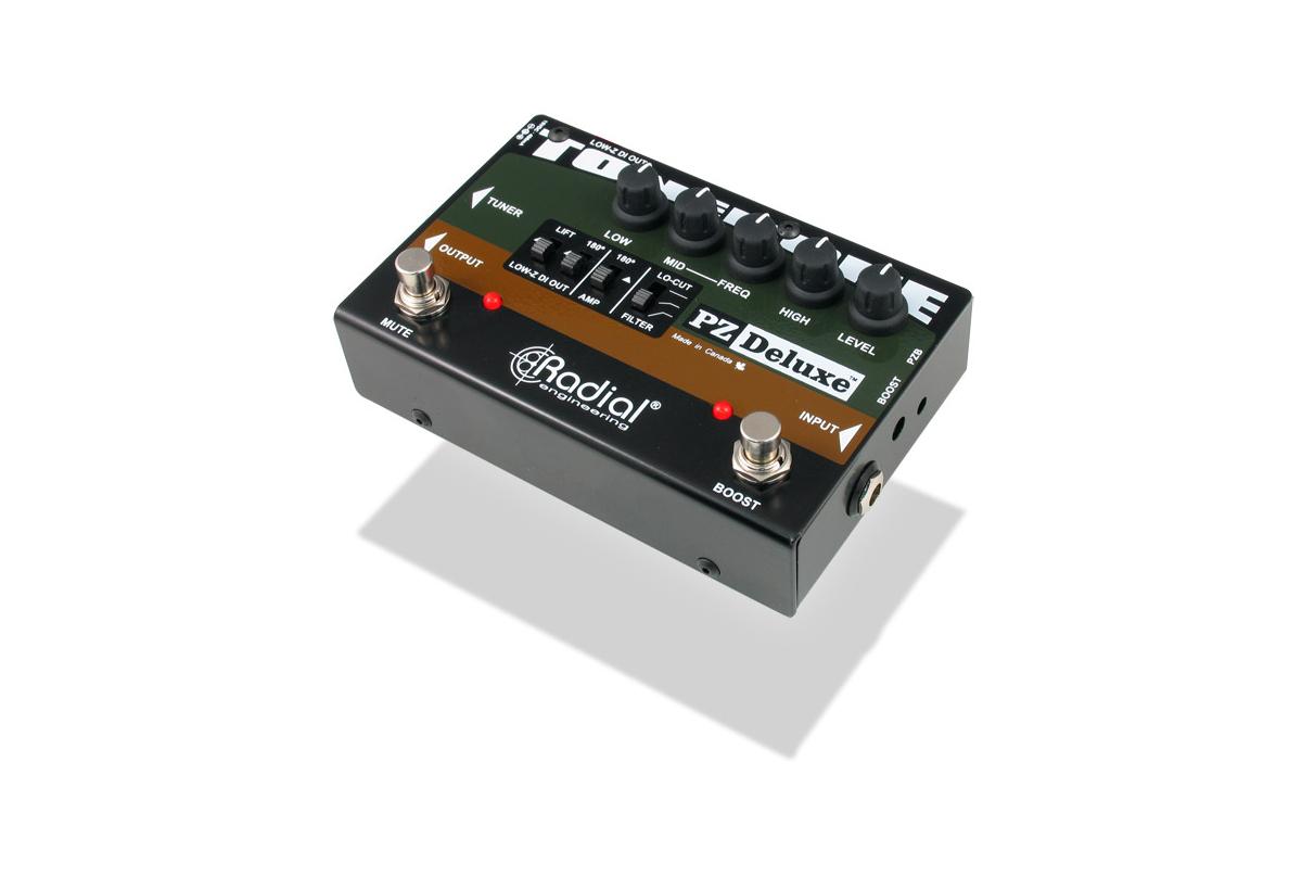 Radial Engineering PZ-Deluxe [RESTOCK ITEM] Tonebone Acoustic Pre Amp PZ-DELUXE-RST-01