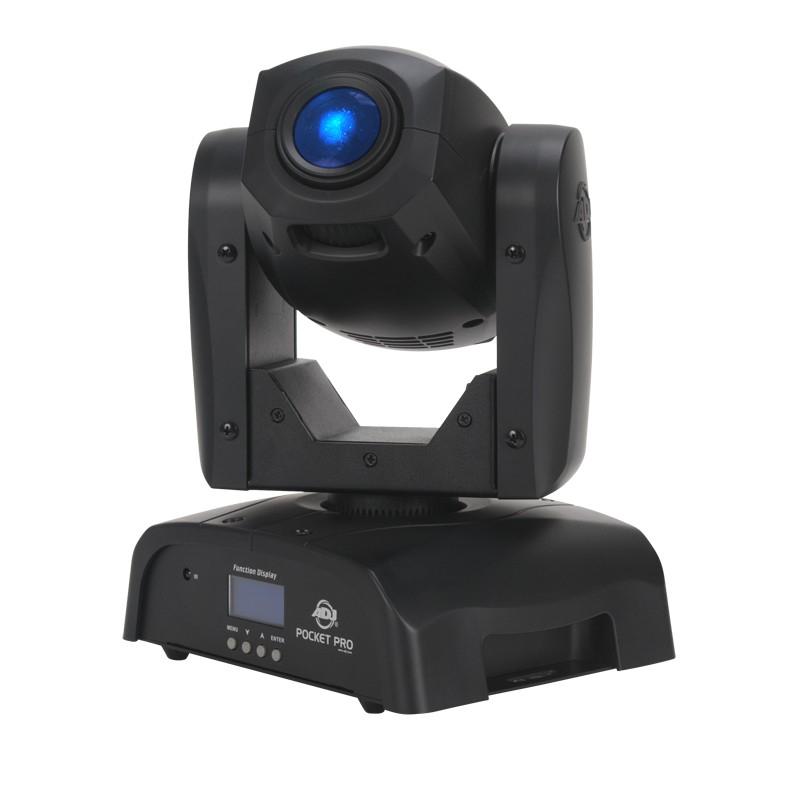 ADJ Pocket Pro [RESTOCK MODEL] 25W LED Moving Head Spot Fixture POCKET-SPOT-PR-RST-1