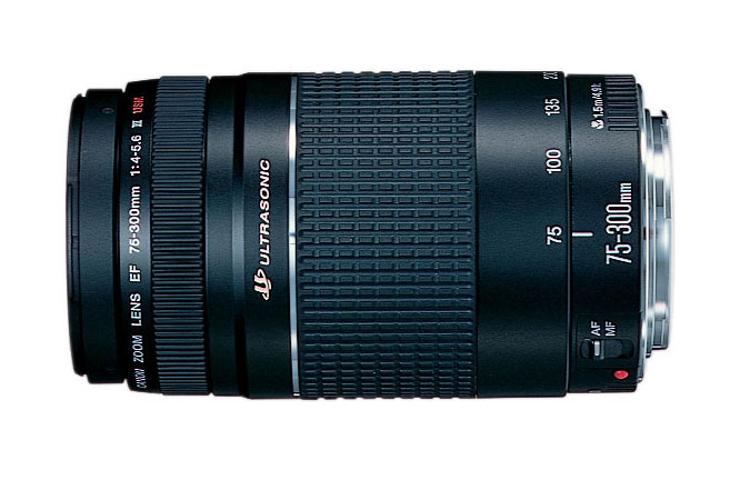 Canon 6473A003 EF 75-300mm f/4-5.6 III Telephoto Zoom Lens 6473A003