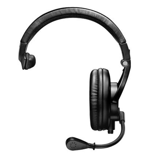 Shure BRH441M-LC Single-Sided Broadcast Headset, Without Cable BRH441M-LC