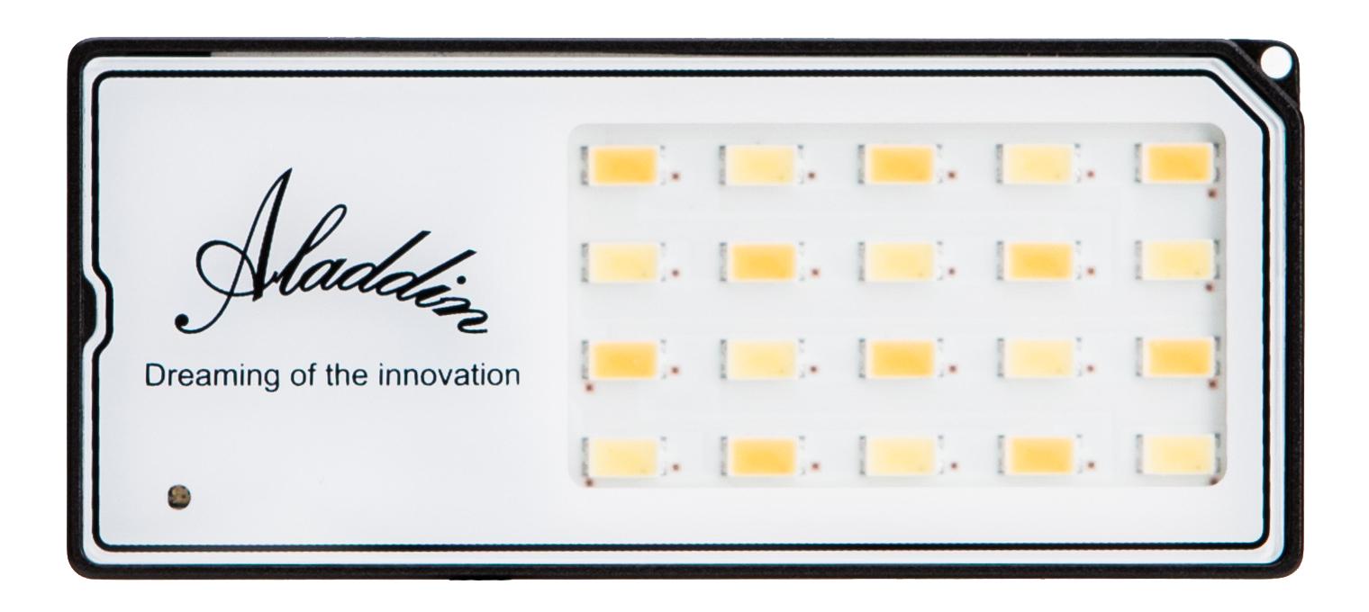 Aladdin EYE-LITE - Bi-Color 3000K-6000K  LED Fixture for Cameras AMS-02T/D