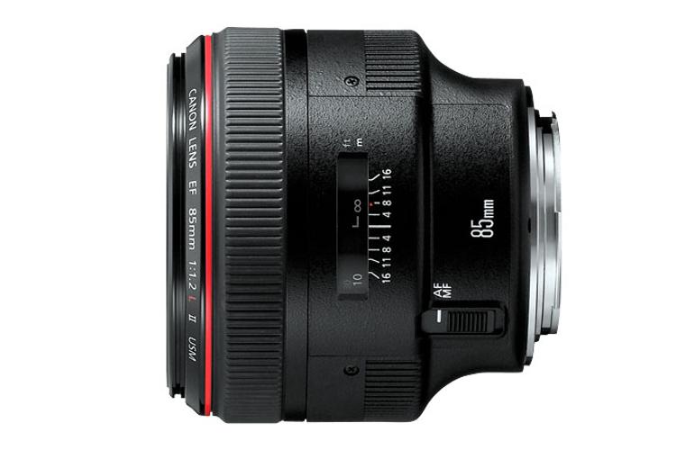 Canon 1056B002 EF 85mm f/1.2L II USM Medium Telephoto Lens 1056B002