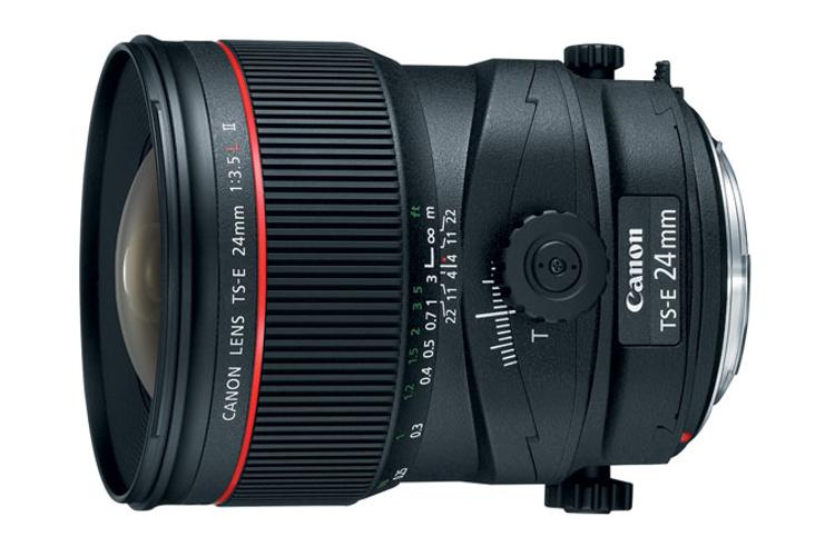Tilt-Shift Lens, TS-E 24mm f/3.5L II