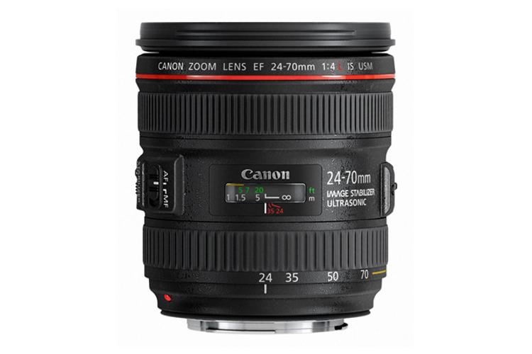 EF 24-70mm f/4L IS USM Zoom Lens