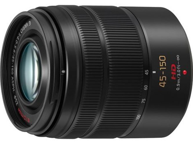 Panasonic H-FS45150 Lumix G Vario 45-150mm F4.0-5.6 ASPH MEGA O.I.S. Lens HFS45150S