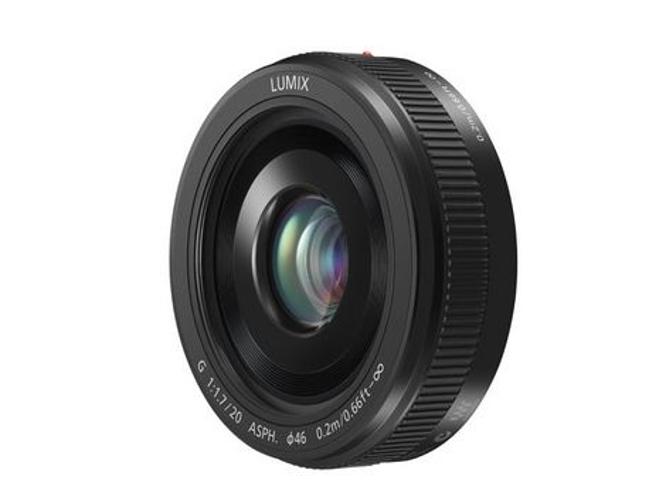 Black Lumix G 20mm F1.7 II ASPH Lens with MFT Mount