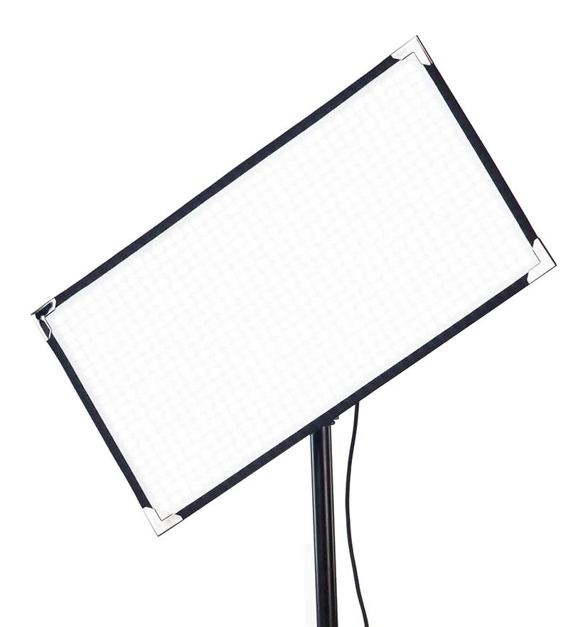 Aladdin BI-FLEX2 V-Mount Kit 100W 1' X 2' Bi-Color LED Panel with V-Mount Battery Plate and DMX AMS-FL100BI KIT-VM