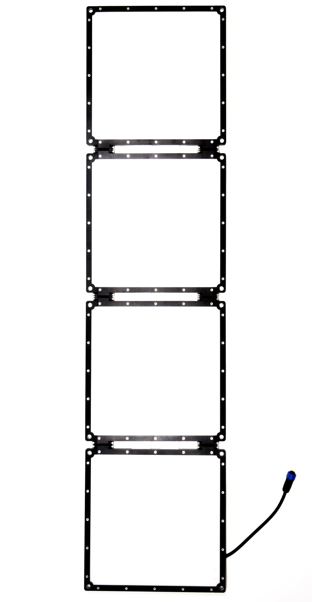 Aladdin BI-FOLD4 V-Mount Kit 200W Bi-Color Soft LED Light Kit with Dimmer and Gold Mount Battery Plate AMS-FD200BIKIT-VM