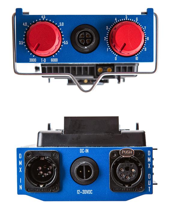 Aladdin BI-FLEX4 Kit 1' x 4' 200W Bi-Color LED Kit with V-Mount Plate and DMX AMS-FL200BI-KIT-VM
