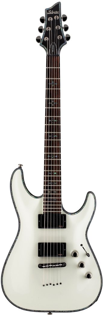 Electric String-Thru Guitar with EMG Active Pickups