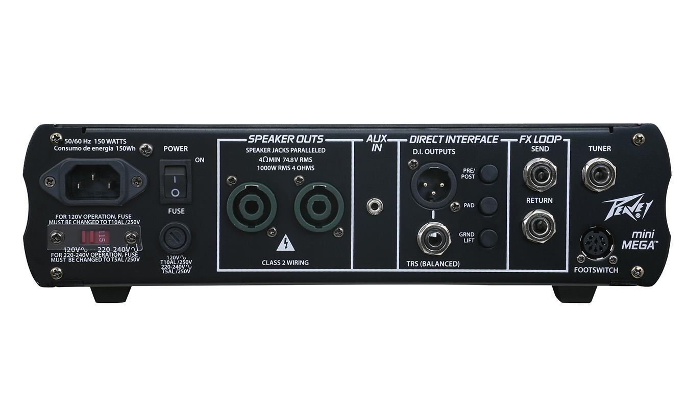 Peavey MiniMega [DISPLAY MODEL] 1000W Bass Amplifier Head MINIMEGA-DIS