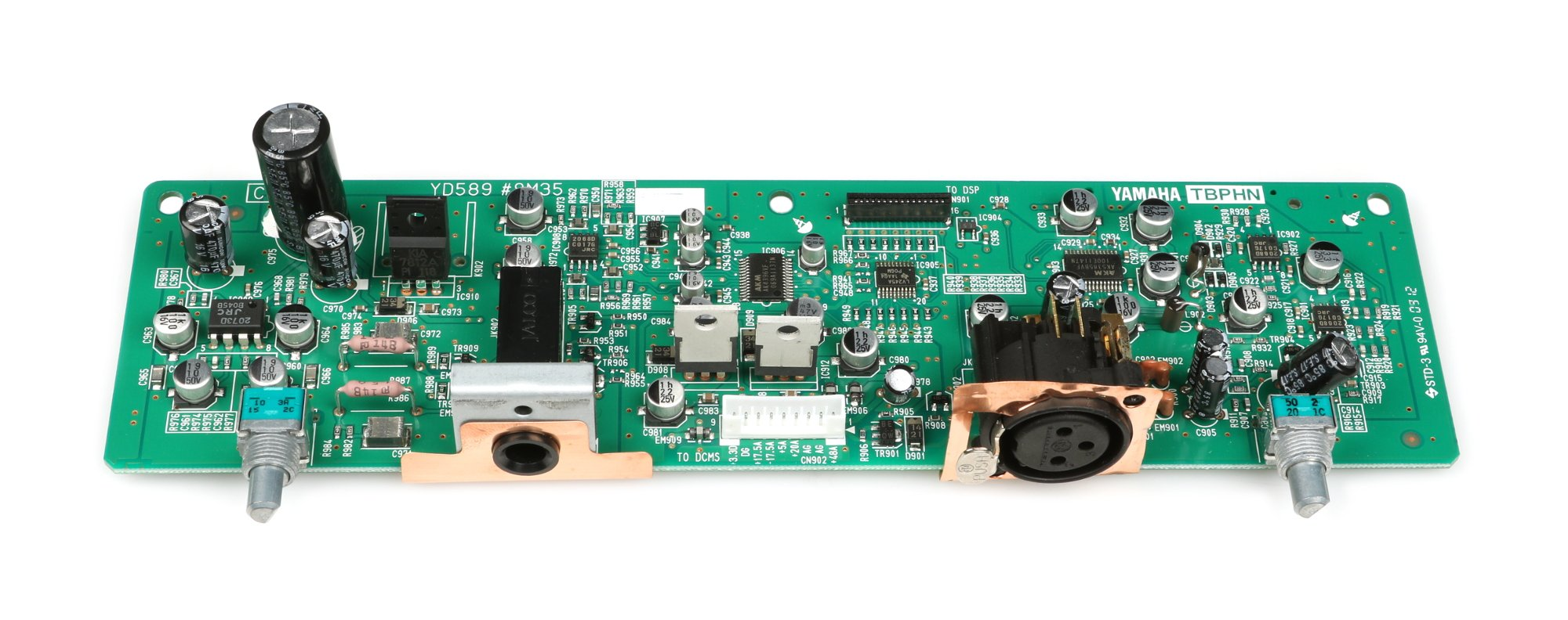 yamaha wz800100 headphone pcb assembly for cl5 full compass systems. Black Bedroom Furniture Sets. Home Design Ideas