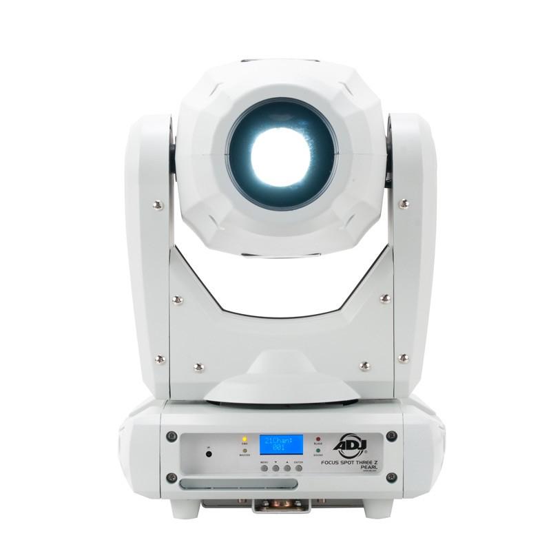 ADJ FOCUS SPOT THREE Z PEARL [B-STOCK MODEL] 100W LED Moving Head Fixture in White FOCUS-SPOT-THREE-ZPB