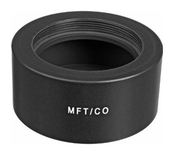 Novoflex MFT/CO M42 Thread Lens to Micro 4/3 Camera Mount Adapter MFT-CO