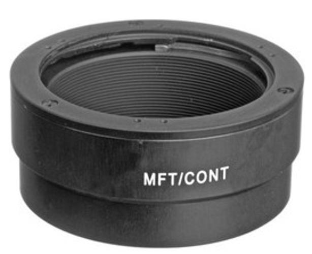 Novoflex MFT/CONT Contax/Yashica Lens to Micro 4/3 Camera Mount Adapter MFT-CONT