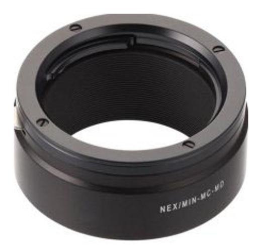 Novoflex NEX/MIN-MD Sony NEX Camera to Minolta MD Lens Adapter NEX-MIN-MD