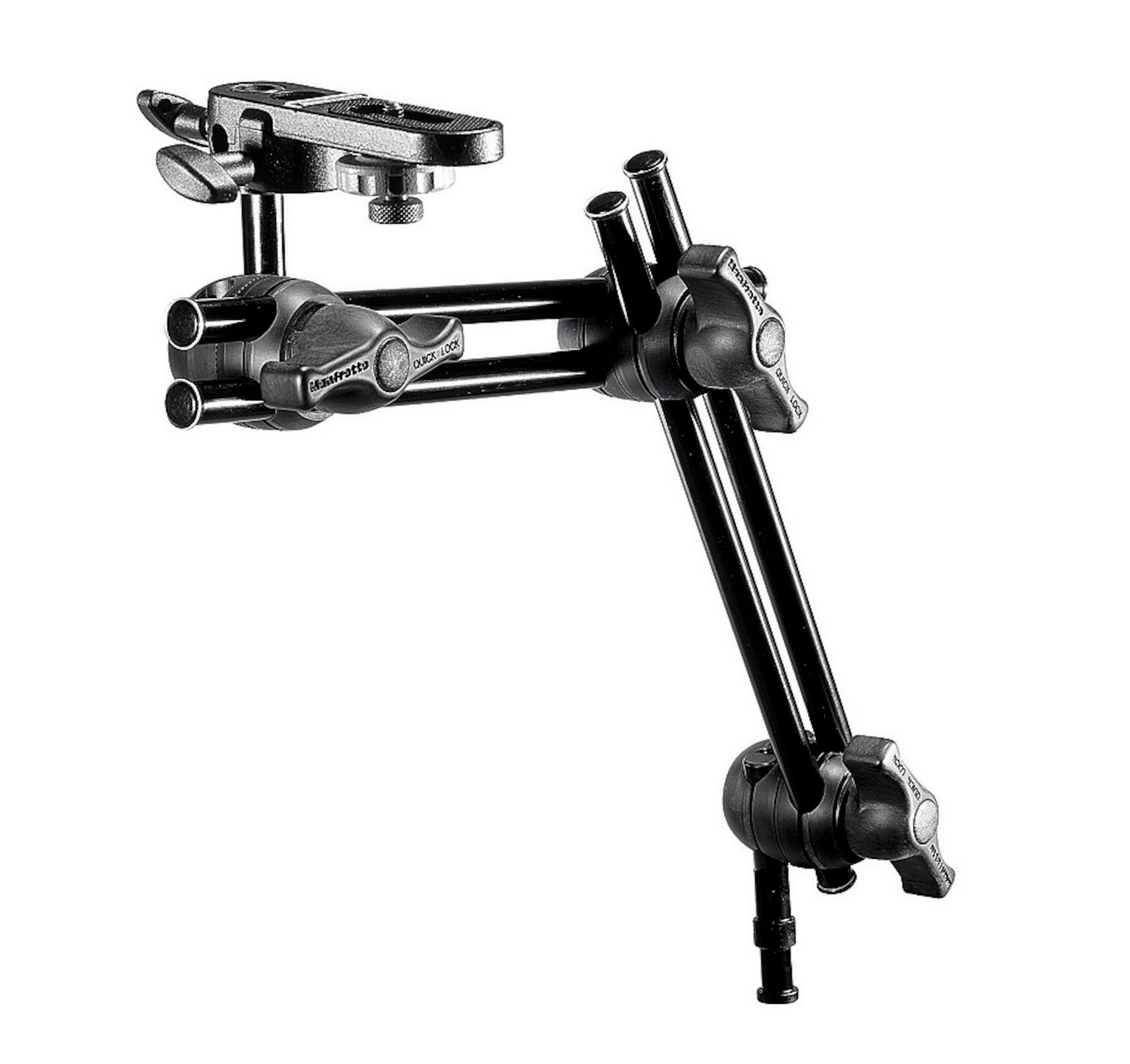 Manfrotto 396B-2 2-Section Double Articulated Arm with Camera Attachment 396B-2